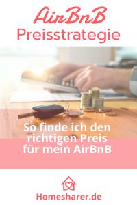 Entwickle die ideale Preisstrategie für Dein AirBnB-Angebot und optimiere Deine Einkünfte bei gleichzeitig optimaler Belegung.